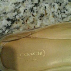 Coach Shoes - Coach  amelia  khaki  jacquard  buckle  accents